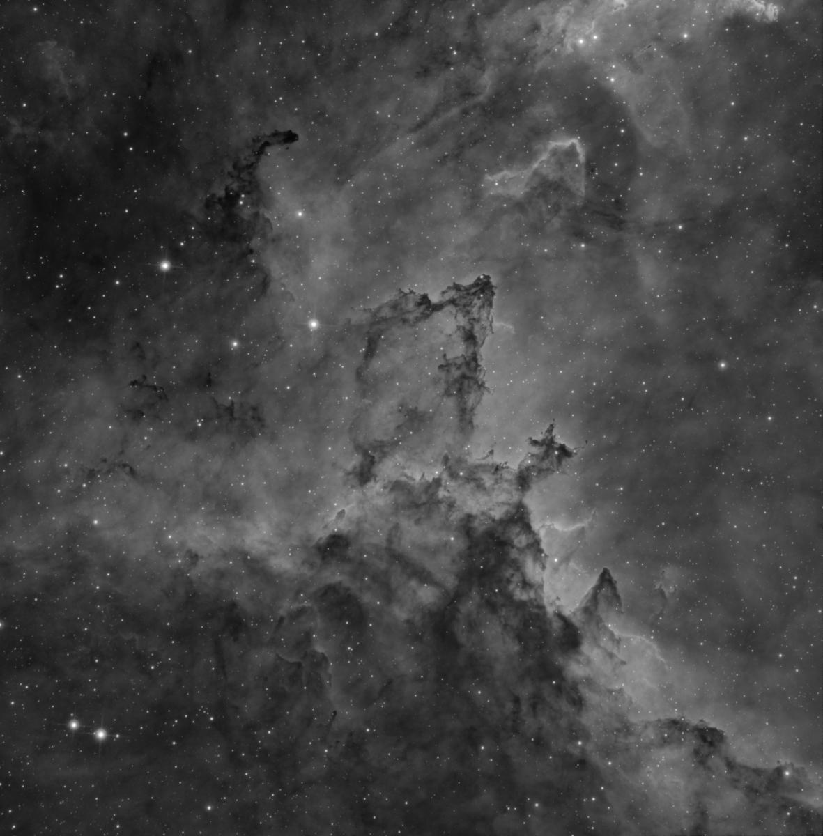 IC 1805 en H-alfa